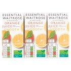 essential Waitrose pure orange juice, 6 pack - 6x200ml