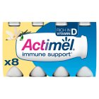 Actimel vanilla - 8x100g Brand Price Match - Checked Tesco.com 05/03/2014