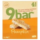 Wholebake 9 bar pumpkin - 4x40g Brand Price Match - Checked Tesco.com 23/07/2014