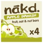 Nakd fruit & nut bars apple pie - 4x30g Brand Price Match - Checked Tesco.com 17/09/2014