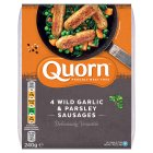 Quorn wild garlic & parsley sausages - 240g