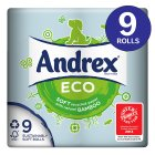 Andrex® Eco Toilet Tissue 9 Roll - 9s Brand Price Match - Checked Tesco.com 04/12/2013