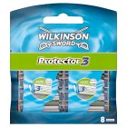 Wilkinson Sword, 3 protector blades - 8s Brand Price Match - Checked Tesco.com 05/03/2014