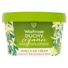 Waitrose Duchy Organic vanilla ice cream - 750ml