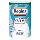 Regina blitz 3 ply kitchen towels - 100 sheets