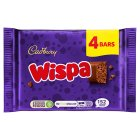 Cadbury Wispa treat size - 4 Pack Brand Price Match - Checked Tesco.com 16/04/2014