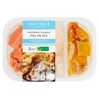 Waitrose cod, salmon & haddock fish pie mix