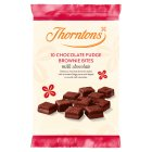 Thorntons mini chocolate fudge brownies - 10s