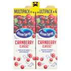 Ocean Spray cranberry classic - 4x1litre