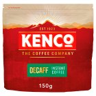 Kenco eco refill decaffeinated coffee - 150g Brand Price Match - Checked Tesco.com 28/07/2014