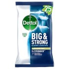 Dettol Big & Strong Bathroom Wipes - 25s Introductory Offer
