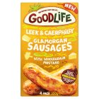 Goodlife 4 Leek & Caerphilly Glamorgan Sausages - 250g