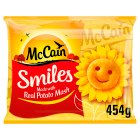 McCain smiles - 454g Brand Price Match - Checked Tesco.com 05/03/2014