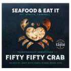 Seafood & Eat It Fifty Fifty Cornish crab - 100g