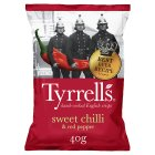 Tyrell's sweet chilli & red pepper potato chips