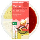 Waitrose American style dip selection - 240g