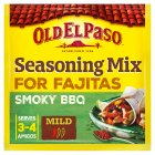 Old El Paso fajita bbq spice mix - 35g Brand Price Match - Checked Tesco.com 05/03/2014