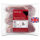 Waitrose 6 Aberdeen Angus thin cut beef sirloin steaks