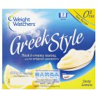 Weight Watchers Greek style lemon fromage frais - 4x100g Brand Price Match - Checked Tesco.com 27/08/2014