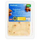 Waitrose Yorkshire Wensleydale with salted caramel - 200g