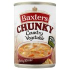 Baxters chunky country vegetable soup - 400g