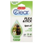 Bob Martin Clear flea & tick spot on - 6s