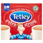 Tetley 80 tea bags extra strong - 80s Brand Price Match - Checked Tesco.com 30/07/2014