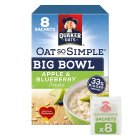Oat So Simple Big Bowl 8s Apple & Blueberry - 383g