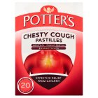 Potter's chesty cough pastilles - 20s New Line
