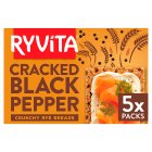 Ryvita cracked black pepper crispbread - 200g