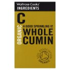 Waitrose Cooks' Ingredients organic whole cumin - 42g