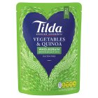 Tilda vegetable & quinoa wholegrain rice - 250g