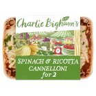 Charlie Bigham's spinach & ricotta cannelloni - 660g