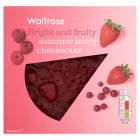 Waitrose summer berry cheesecake - 550g