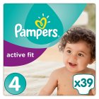 Pampers active fit maxi 4 7-18kg - 39s Brand Price Match - Checked Tesco.com 10/02/2016
