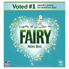 Fairy Non Bio  Washing Powder Laundry Detergent 22 washes - 1430g