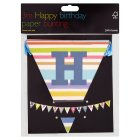 John Lewis happy birthday bunting - each