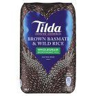 Tilda wholegrain basmati & wild rice - 500g