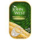 John West mackerel fillets in mustard sauce - 125g