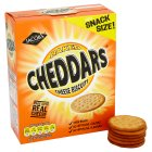 McVities Cheddars cheese biscuits