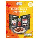 Look what we found! chilli con carne & long grain rice - 450g
