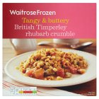 Waitrose Timperly rhubarb crumble - 600g