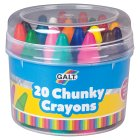 Galt chunky crayons, pack of 24 - 24s