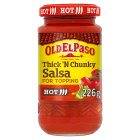 Old El Paso salsa hot - 226g Brand Price Match - Checked Tesco.com 02/12/2013