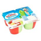 Munch Bunch double up banana & strawberry - 4x85g