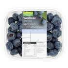 Waitrose Sweet and Juicy Blueberries - 125g New Season