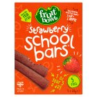 Fruit Bowl school bars strawberry 5 pack 100g - 100g