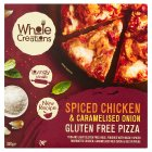 Whole Creations Chicken & Onion Gluten Free Pizza - 350g