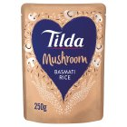 Tilda steamed mushroom basmati rice - 250g Brand Price Match - Checked Tesco.com 04/12/2013