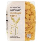 essential Waitrose conchiglie rigate - 500g